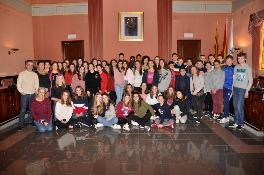 Foto Intercambio alumnos franceses