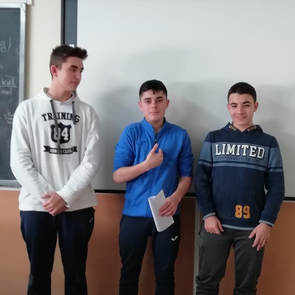 Mario, Manuel et Daniel - 4º ESO