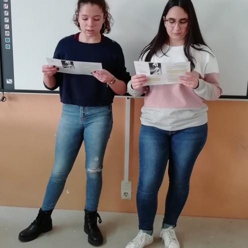 María et Irene - 4º ESO